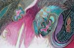 Farben, Pastellmalerei, Abstrakt, Malerei