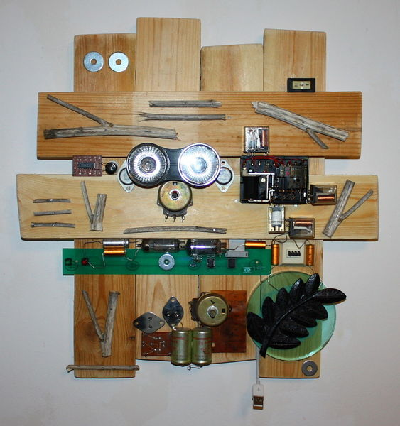 Usb, Kabel, Mechanik, Holz, Lampe, Maschine