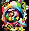 Malerei, Reflex, Frühjahr, Spiegelung
