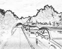 Stadt, Auto, Zeichnungen,