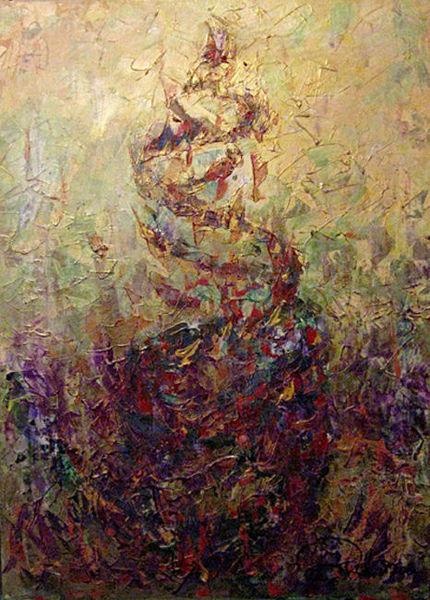 Malerei, Feuervogel