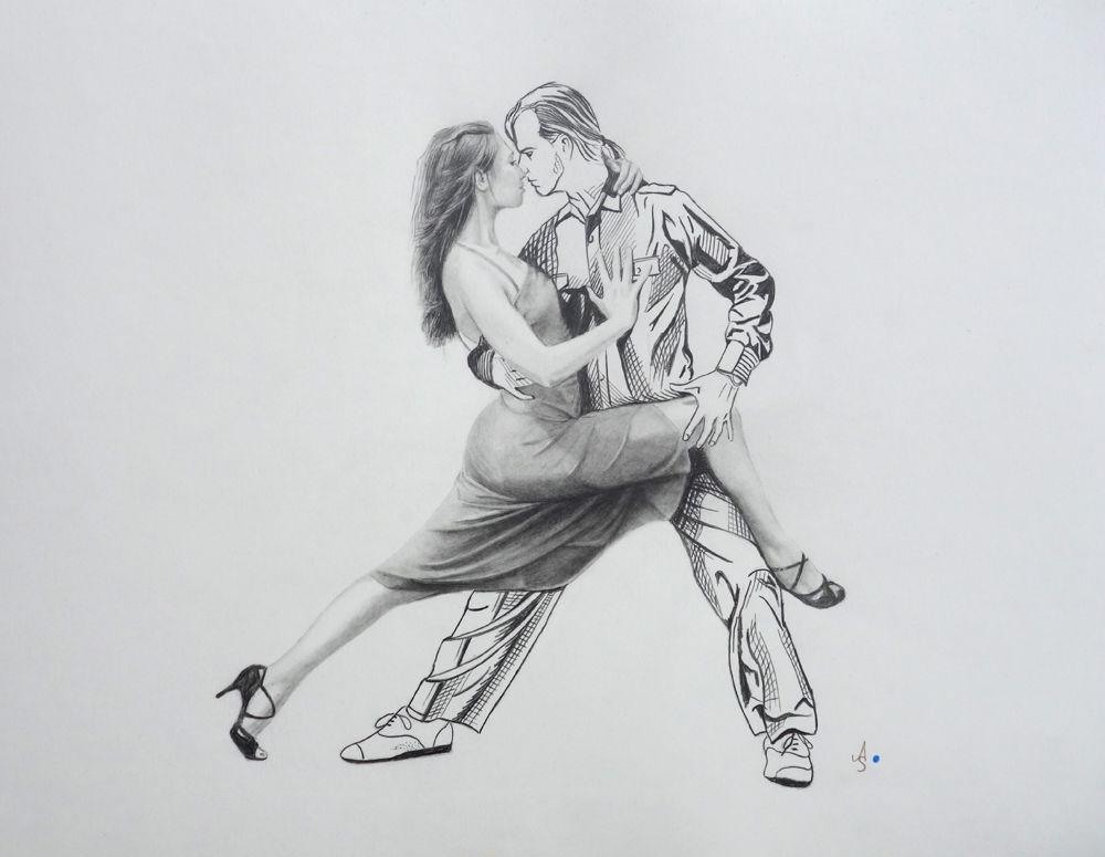 Tango - 77 Bilder und Ideen auf KunstNet | Malerei, Tanz und Modern Art
