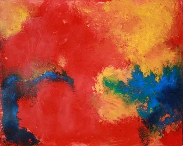 Malerei, Abstrakt, Urknall, 2008