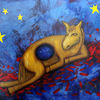 Cny china pferd, Malerei, Geschichte, Holz