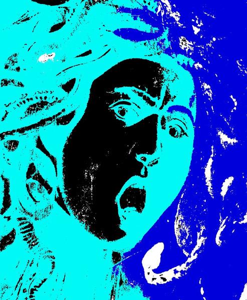 Medusa, Mythologie, Malerei, Figural