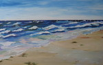 Strand, Wasser, Ostsee, Welle
