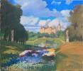 Schloss, Schwerin, Buga, Malerei