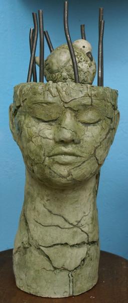 Gartenskulptur, Käfig, Skulptur, Plastik, Figural