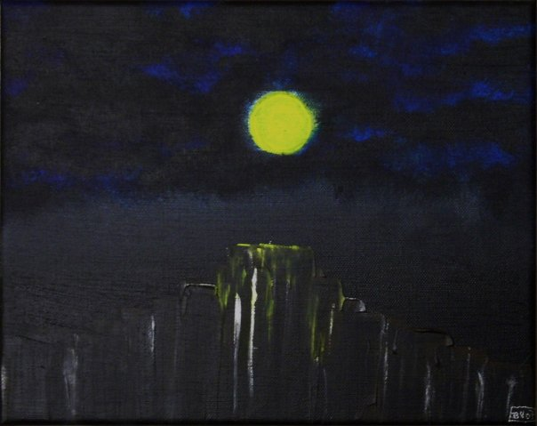 Malerei, Stille