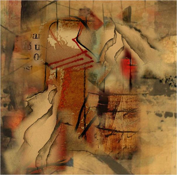Collage, Digitale kunst, Presse, Tsunami