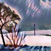 Telefonmasten, Leere, Winter, Schnee