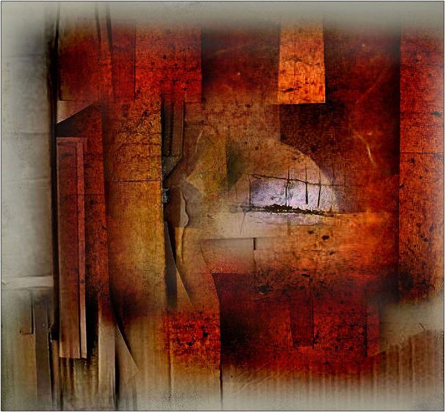 Digitale kunst, Surreal, Akt, Vorhang