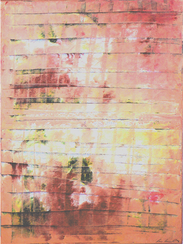bild mauer abstrakt expressionismus wand von claudia h ntzschel bei kunstnet. Black Bedroom Furniture Sets. Home Design Ideas