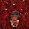 Afrika, Mystik, Textil, Maske