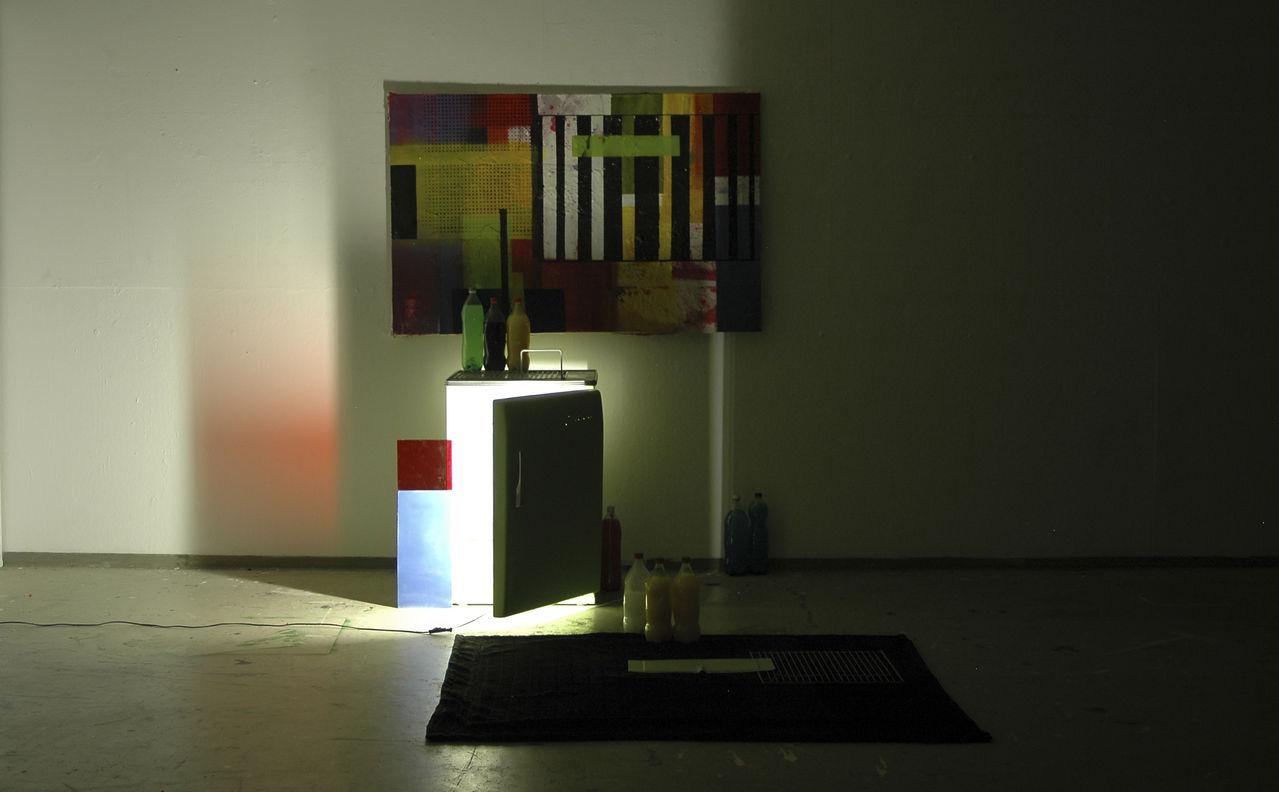 Kühlschrank Licht : Der frierende kühlschrank licht mischtechnik sperrmüll farben