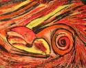 Malerei, Abstrakt, Geborgen
