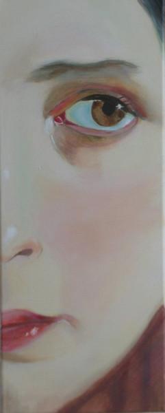 Augen, Gesicht, Weiblich, Frau, Portrait, Malerei