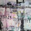 Misch technik, Experimentelle, Moderne malerei, Abstrakte malerei