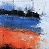 Submarine, Ozean, Abstrakte landschaft, Moderne malerei