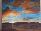 Sonnenuntergang, Wolken, Himmel, Malerei