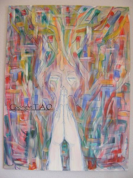 Gebet, Malerei, Surreal