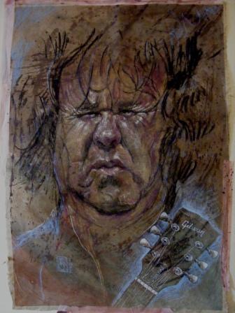Portrait, Pastellmalerei, Mann, Zeichnung, Ausdruck, Kohlezeichnung