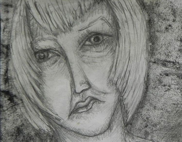 Brechen, Bosheit, Enttäuschung, Frau hilfe, Zeichnungen