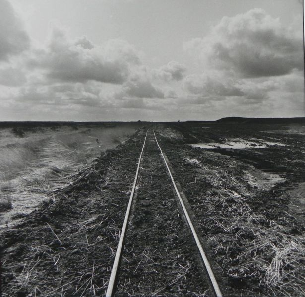 Unendliche weite, Hoffnung, Schiene, Moor, Weiterentwicklung, Wolken