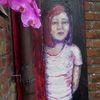 Mädchen, Rote haare, Malerei,