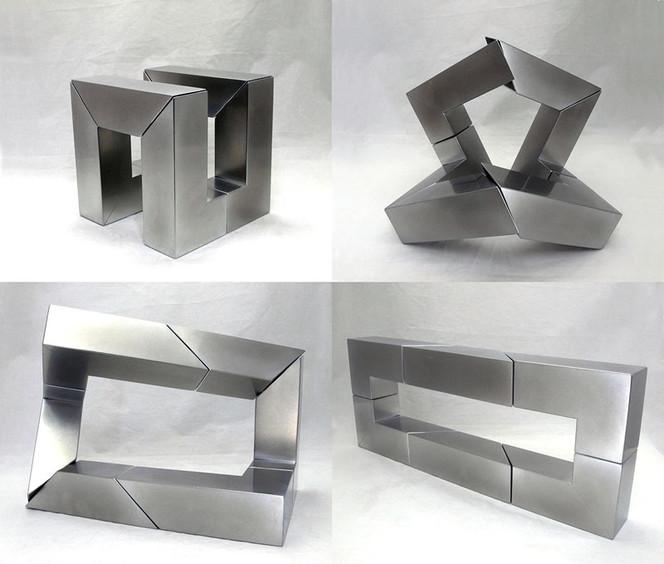 Kinetische skulptur, 6r, Mechanismus, Plastik, Abstrakt
