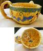 Vogel, Groß, Blau, Keramik