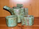 Tasse, Grün, Kanne, Keramik