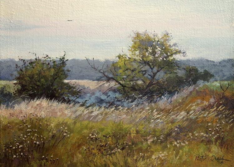 Wiese frühling gras, Malerei, Wiese