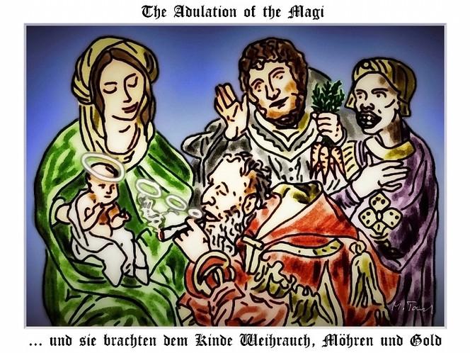 König, Weise, Heilig, Morgenland, Jesus, Weihnachten