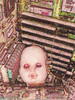 Baby, Puppe, Digitale kunst