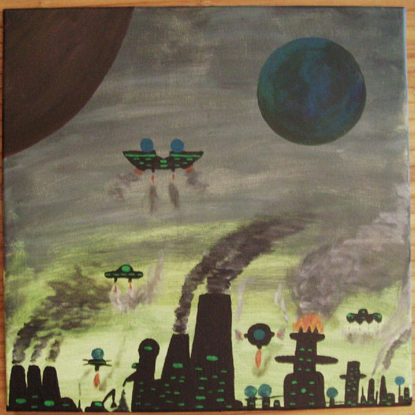 Fiktion, Wissenschaft, Malerei, Surreal, Planet