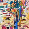 Temporaine, Ölmalerei, Panel, Abstrakt