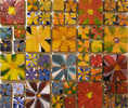Gemälde, Ceramis, Blumen, Natur