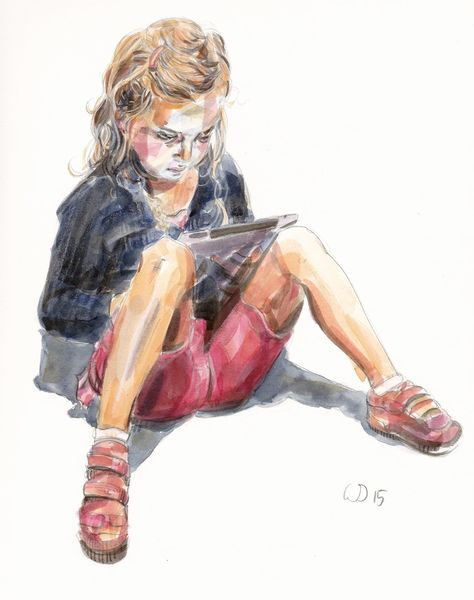 Aquarell, Tablett, Generation