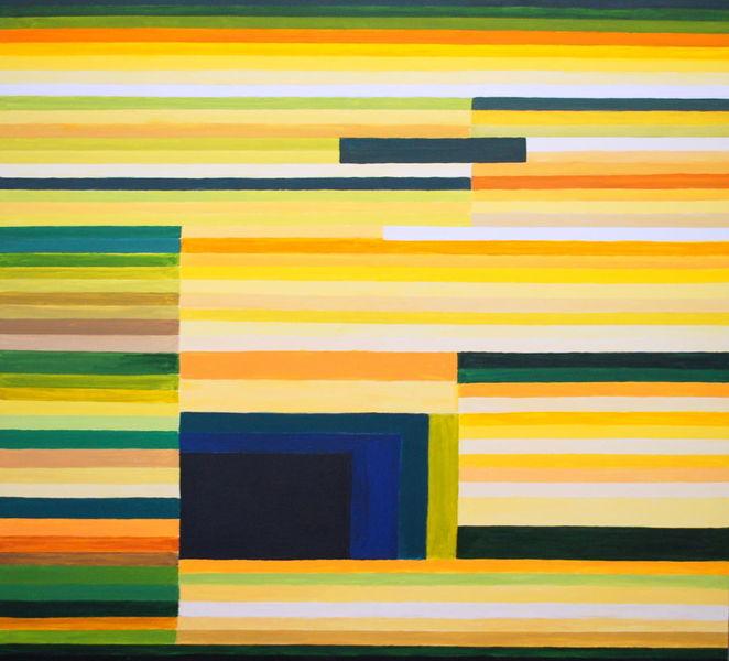Abstrakt, Landschaft, Linienbilder, Felsenkammer, Malerei,