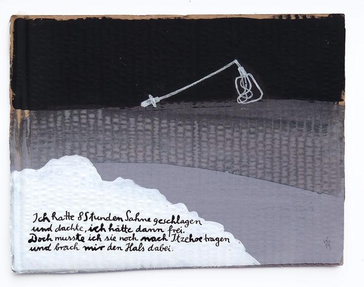 Itzehoe, Sahne, Schlagen, Illustrationen, Ziel, Weg