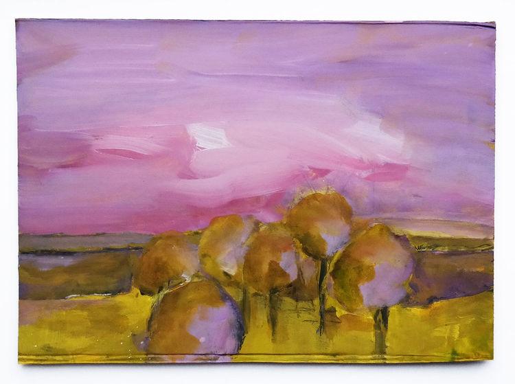 Harryhimmel, Baum, Licht, Malerei, Zeit
