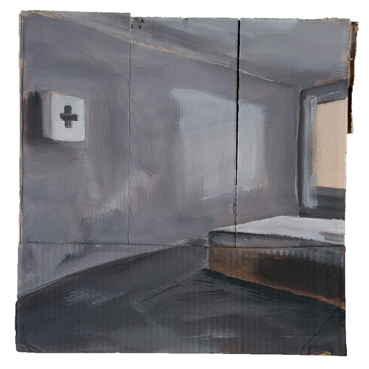 bild erste hilfe hotel bett fenster von victor koch. Black Bedroom Furniture Sets. Home Design Ideas