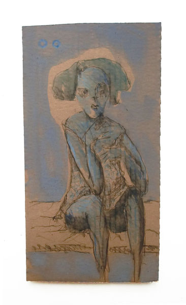 Blau, Iris, Zeichnungen