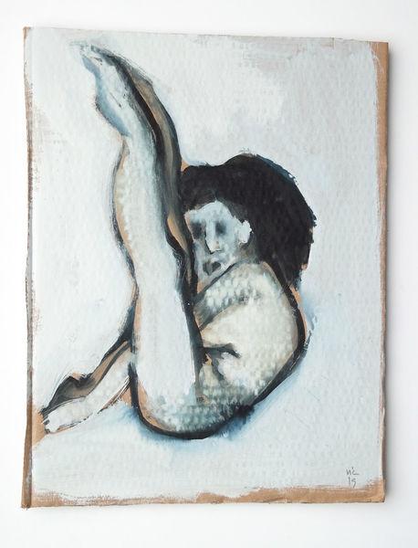 Lebendig, Aufgeregt, Malerei, Nacht, Schlaf,