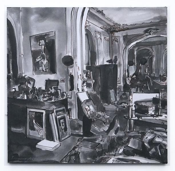 Picasso, Raum, Chaos, Zeichnungen, Atelier