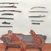 Stöckchen, Stolz, Sammeln, Zeichnungen