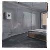 Hotelzimmer mit Hilfe - Erste Hilfe, Hotelzimmer, Bett, Fenster, Wand, Schatten