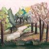 Baum, Paradies, Schlaraffenland, Malerei