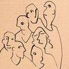 Figur, Freunde, Stille, Zeichnungen